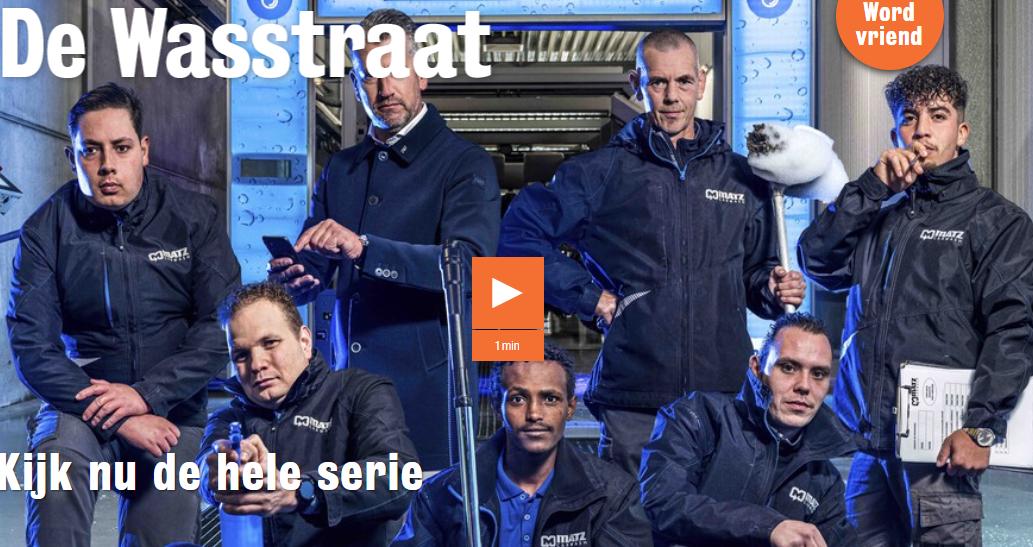 Documentaireserie over mensen met een afstand tot de arbeidsmarkt: De Wasstraat
