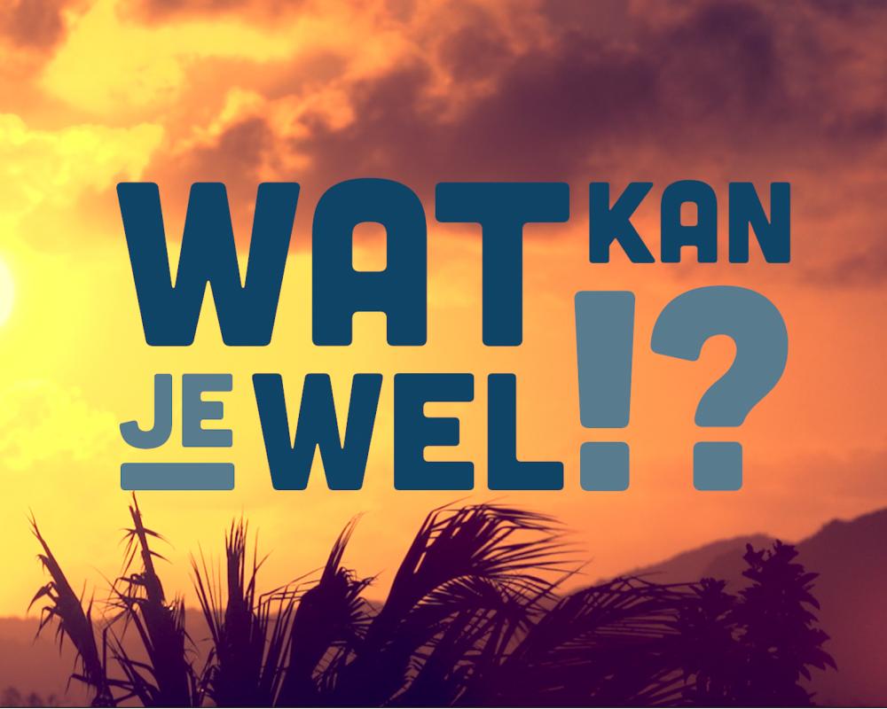 Documentaire 'Wat kan je wel!?' nu ook op NPO2 te zien