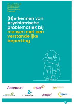E-Magazine '(H)erkennen van psychiatrische problematiek bij mensen met een verstandelijke beperking'